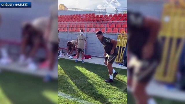 Le bizutage de Luis Suarez à l'Atlético de Madrid