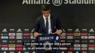 'It's beautiful to be back' - Morata on Juve return
