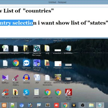 How to show states based on country selection|how to show cities based on states selection|Wordpress