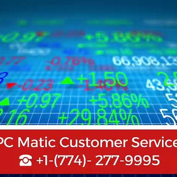 PC Matic Customer Service ☎+1-(774)-277-9995
