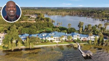 See Inside Shaq's  $19.5 Million Orlando Mega-Mansion