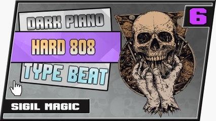 [ FREE ] Hard Distorted 808 Dark Piano Type Rap Beat    Cold Soul