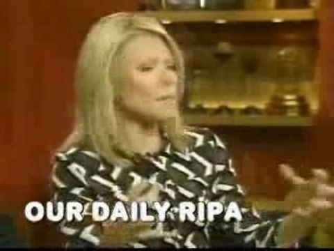 Kelly Ripa farts