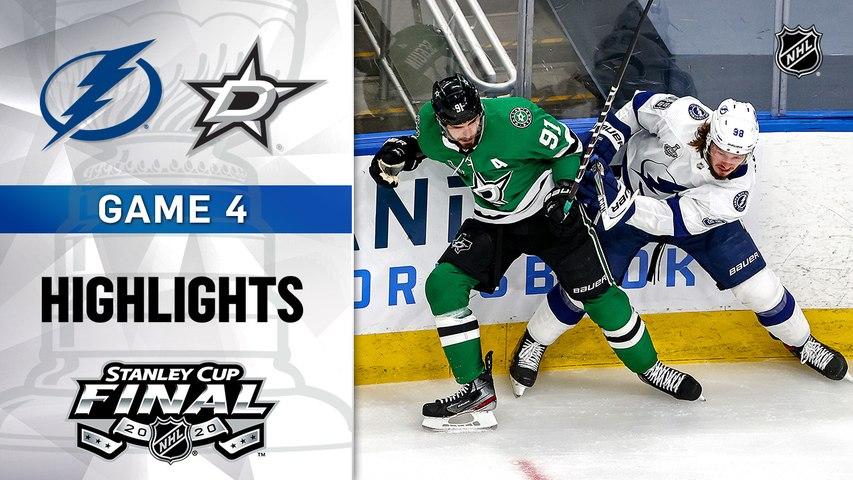 NHL Highlights | Lightning @ Stars 9/25/2020