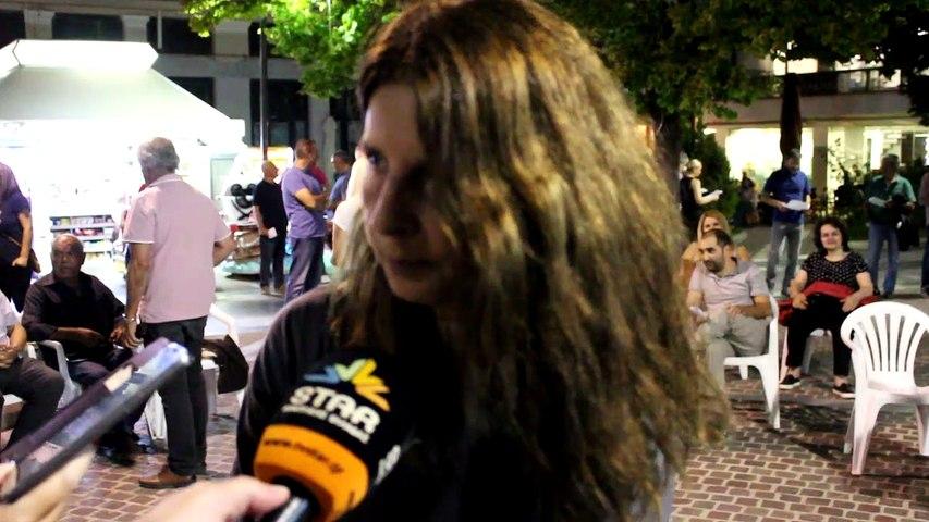 Όχι στις ανεμογεννήτριες στον Ελικώνα. Νέα διαμαρτυρία στη Λιβαδειά