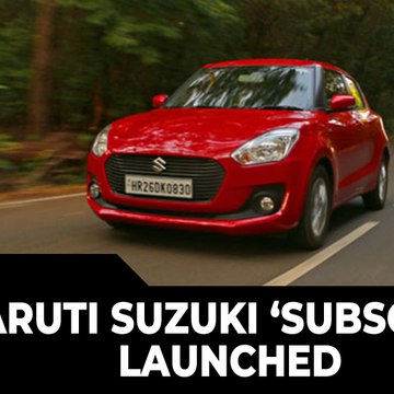 Maruti Suzuki 'Subscribe' Launched | A New Kind Of Ownership Programme