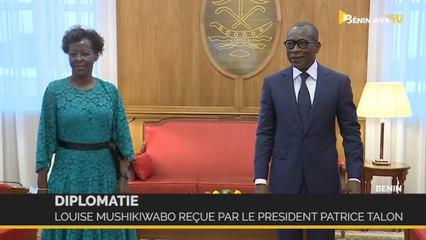 Bénin: Louise Mushikiwabo reçue par le Président Patrice Talon