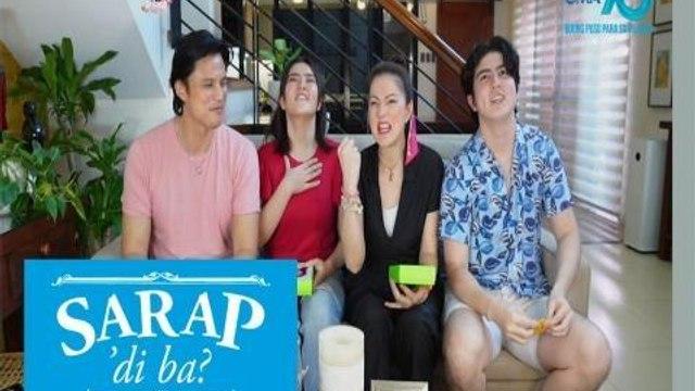 Sarap, 'Di Ba?: 'Isang Tanong, Isang Sagot Challenge' with the Legaspi family | Bahay Edition