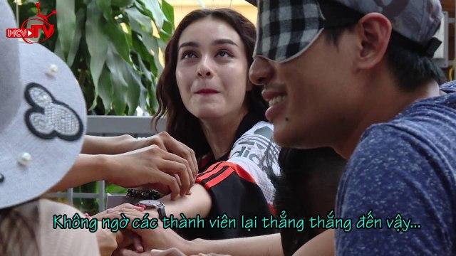 [Cười sặc sụa] với màn bịt mắt đoán người của nghệ sĩ Việt.