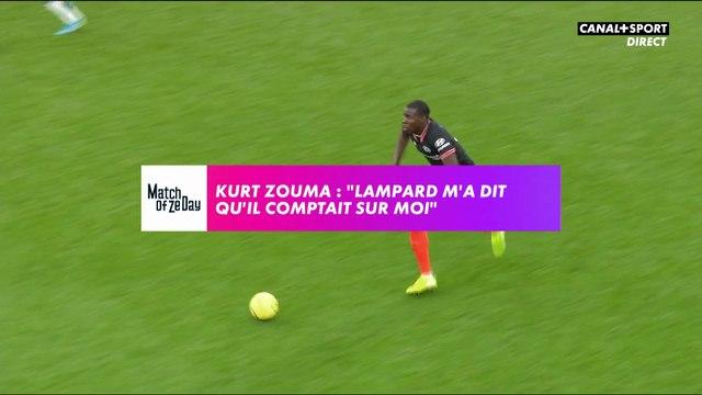 """Kurt Zouma: """"Lampard m'a dit qu'il comptait sur moi"""""""