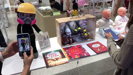 Children's store owner defies Hong Kong National Security Law with pro-democracy statue