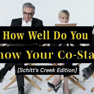 The 'Schitt's Creek' Cast Plays 'How Well Do You Know Your Co-Star'