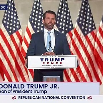 Donald Trump, Jr. full remarks at 2020 Republican National Convention