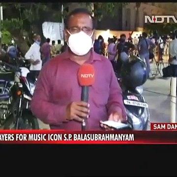 Singer S P Balasubrahmanyam On Maximum Life Support; Kamal Haasan Visits Hospital