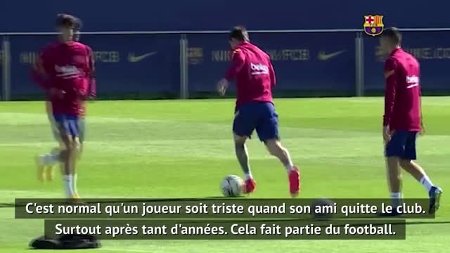 """Transferts - Koeman : """"Normal que Messi soit triste du départ de Suarez"""""""