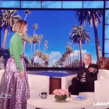 All moments of Sarah Paulson scared by Ellen ☆