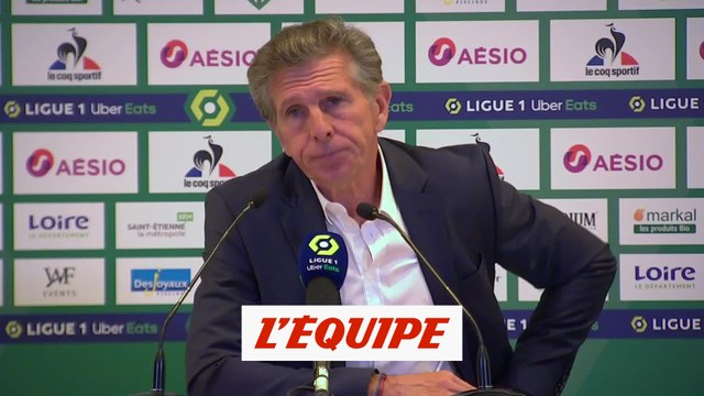 Puel : «Nous avons pris une leçon de réalisme» - Foot - L1 - Saint-Etienne