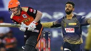 IPL 2020  : KKR vs SRH | Warnerஐ காலி செய்த Varun Chakravarthy! | OneIndia Tamil