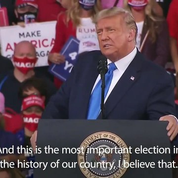 Donald Trump labels Joe Biden too 'low energy' to be President in Jacksonville rally