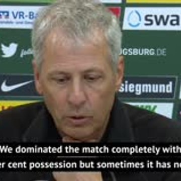 Favre struggling to accept Dortmund's defeat at Augsburg