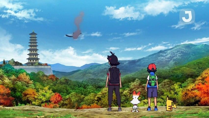 Pokemon Saison 23 Épisode 9 - Rencontre avec une legende !