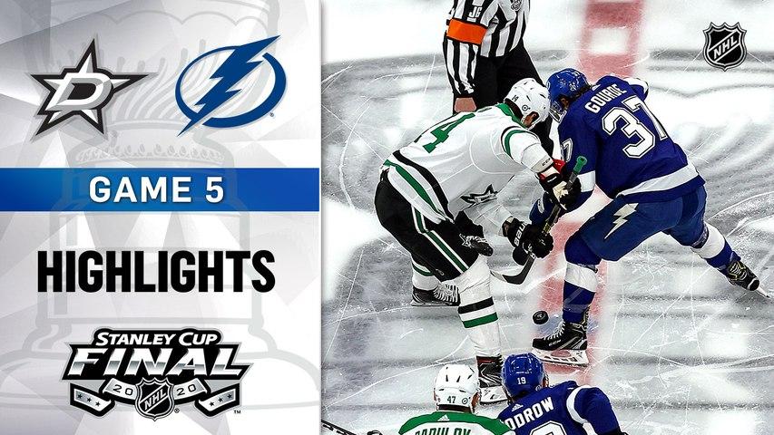 NHL Highlights | Stars @ Lightning 9/26/2020