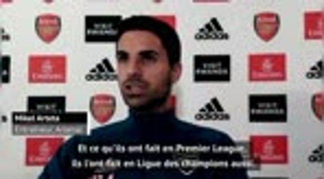 "Arsenal - Arteta : ""Approcher le niveau de Liverpool"""