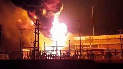 Tras el incendio, Secheep informó que trabaja para restablecer el servicio en Barranqueras