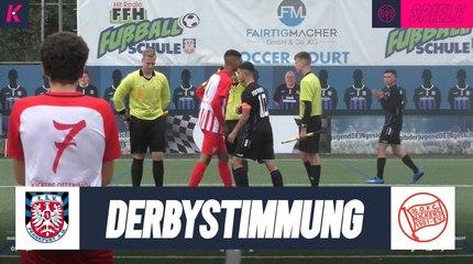 Spitzenspiel und Derbystimmung in Frankfurt | FSV Frankfurt U16 - Offenbacher Kickers U17 (4. Spieltag, B-Junioren-Hessenliga)