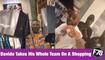 F78NEWS: Davido Takes His Whole Team On A Shopping