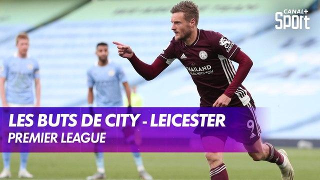 Les buts de Manchester City - Leicester