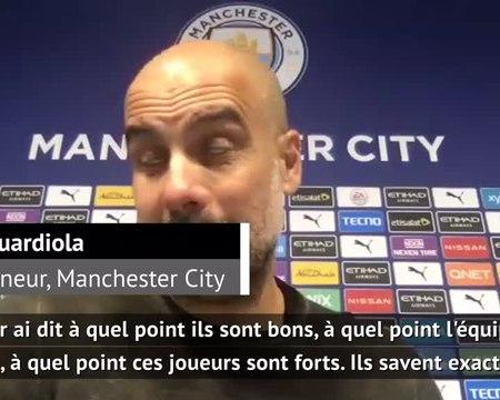 """3e j. - Guardiola : """"Il faut l'accepter"""""""