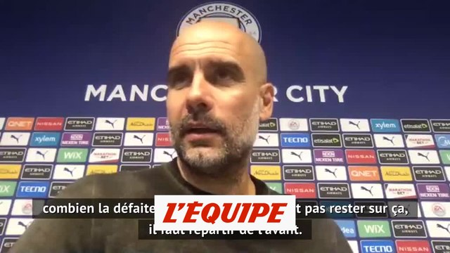 Guardiola : «Il faut l'accepter» - Foot - ANG - Man. City