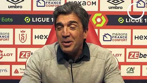Reims-PSG : les gros regrets de David Guion