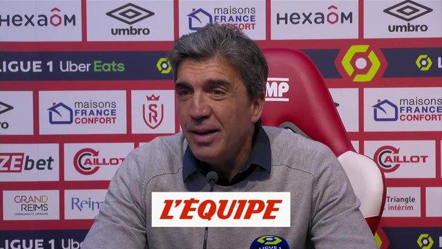Guion : «Il manque l'essentiel, marquer des buts» - Foot - L1 - Reims