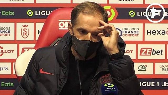 Reims-PSG : Thomas Tuchel n'était pas content