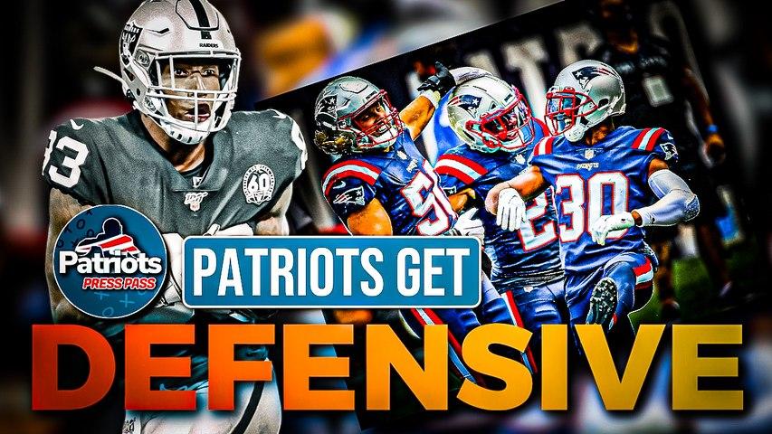 Patriots' Defense Shut Down Darren Waller in Win Over Raiders | Patriots Press Pass