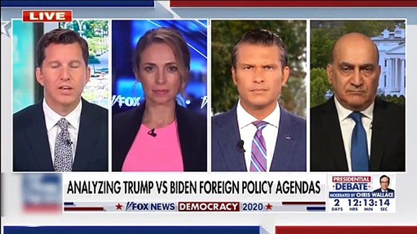 #NEWS  Walid Phares breaks down Trump and Biden's foreign policy agenda