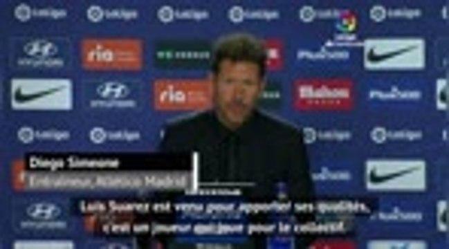 3e j. - Simeone ravi des débuts de Suarez