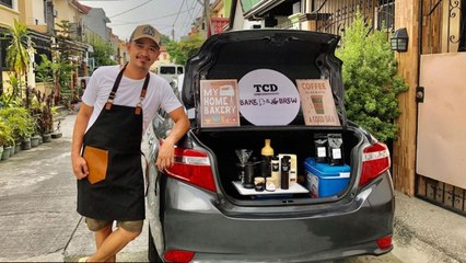 This family started a mobile cafe business with P5,000