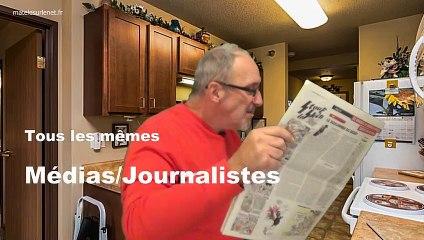 Aaaaah les médias, les journalistes...tous les mêmes !