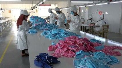 Korona Virüsü Etkisizleştiren Maskede Seri Üretime Geçildi