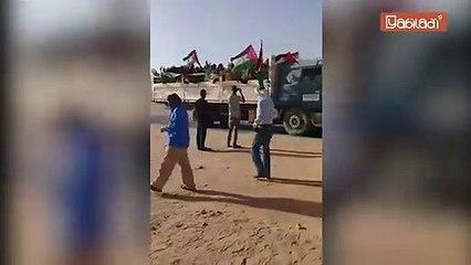 Blocage d'El Guerguerate : Les convois du Polisario quittent la 2e région militaire du Doukj