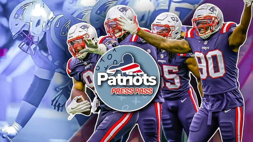Is the Offensive Line the Reason Patriots' Run Game is Dominating? | Patriots Press Pass