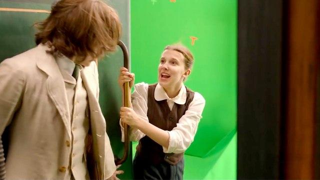Enola Holmes on Netflix - Hilarious Bloopers