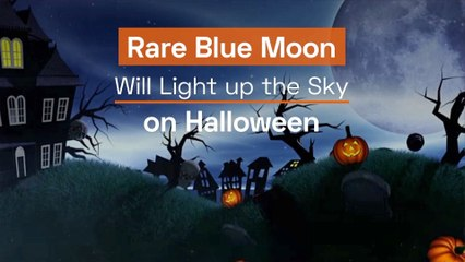 Halloween Goes Blue This Year