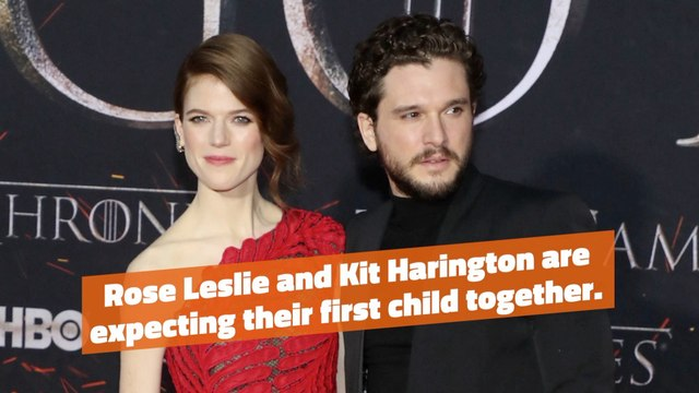 Rose Leslie Is Expecting
