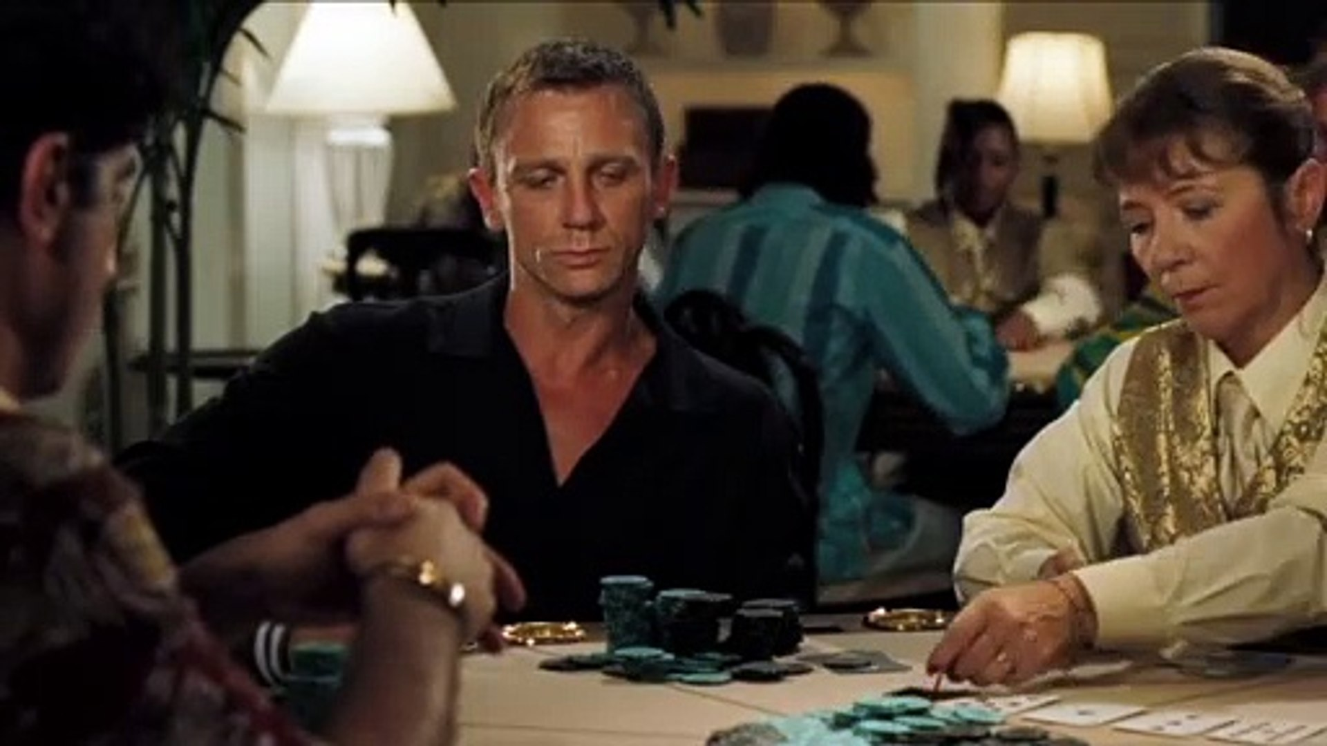 James Bond Casino Royale Movie Clip Bond Wins The Aston Martin Db5 Video Dailymotion