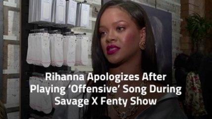 Rihanna's Fashion Show Issue