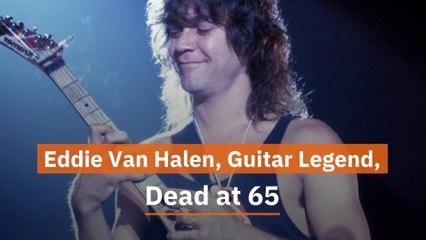 Eddie Van Halen Has Died